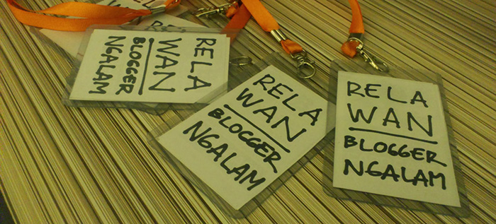 Nametag Bloggerngalam