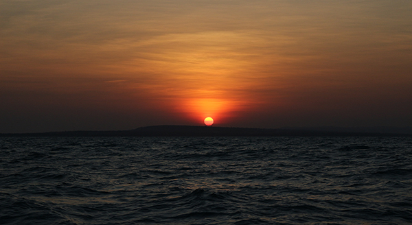 Salah satu hasil pengambilan sunset